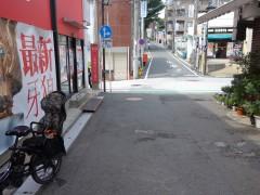 2.三菱東京UFJ銀行のある交差点を左折します